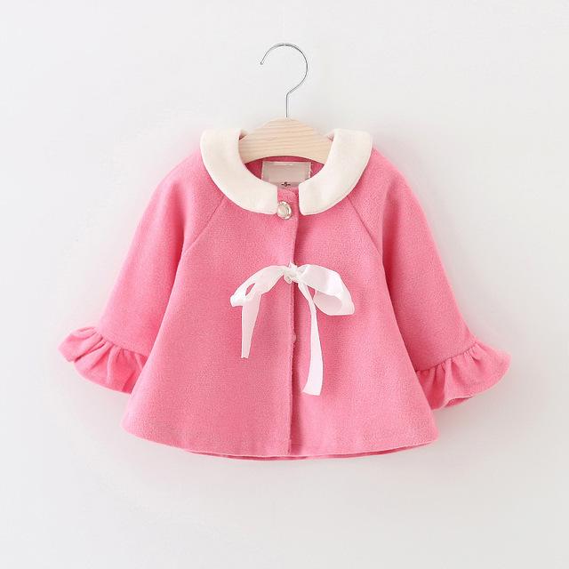 Meninas do bebê roupas de bebê recém-nascido crianças casaco menina doce princesa vestido estilo Ocidental de alta qualidade frete grátis 1-2 anos