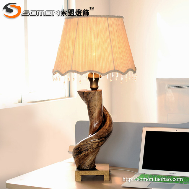 New roots collectibles carved wooden desk lamp table lamp natural new roots collectibles carved wooden desk lamp table lamp natural creative engineering designer lamp ikea wood aloadofball Image collections