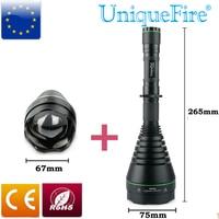 UniqueFire Hunting Flashligh Unique Double Tube Focusing Head Design UF 1508 T75 940nm Perfect Ir Spotlight