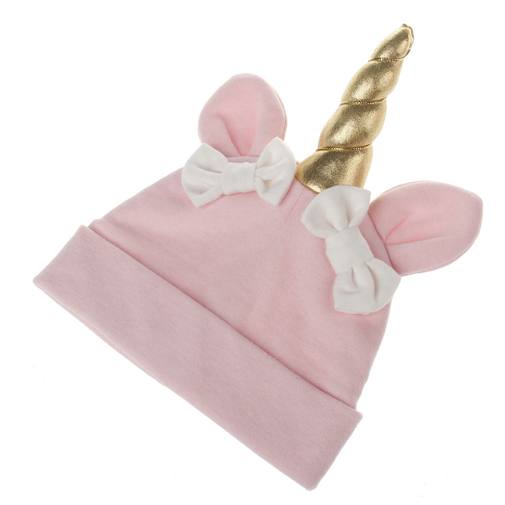 Cute kids hat baby reborn knit cap beard bonnet Baby Girls Boys Bow Cartoon Toddlers Cot ...
