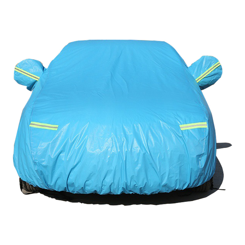Image 2 - Car Covers For Mazda 2 3 6 8 Sedan Hatchback With Side Door Opening Dustproof Sun Shade Hood Full Cover Sun Protector-in Car Covers from Automobiles & Motorcycles