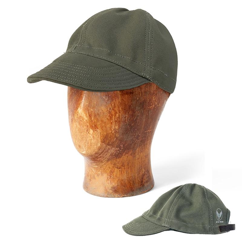 1940s USAAF WW2 Vintage Military Hats Army Canvas Spring Summer Cap Army  Aviation Adjustable Hat f553a5da852