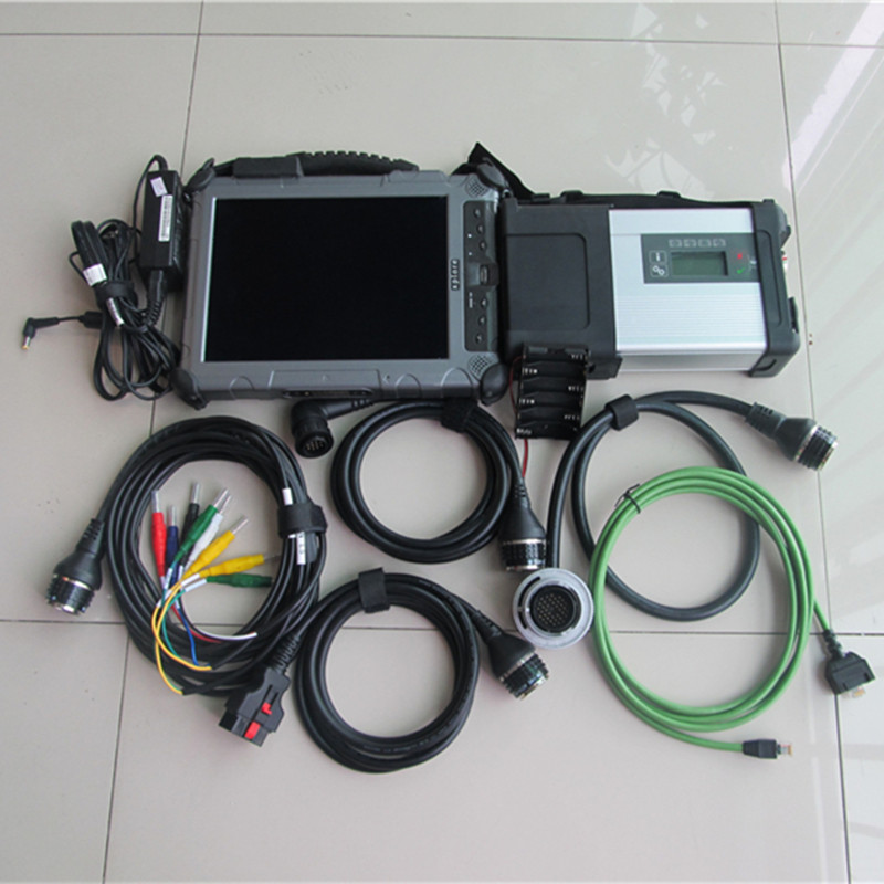 super mb star c5 with ssd with xplore ix104 c5 i7 tablet laptop mb car and truck diagnostic new version of c4