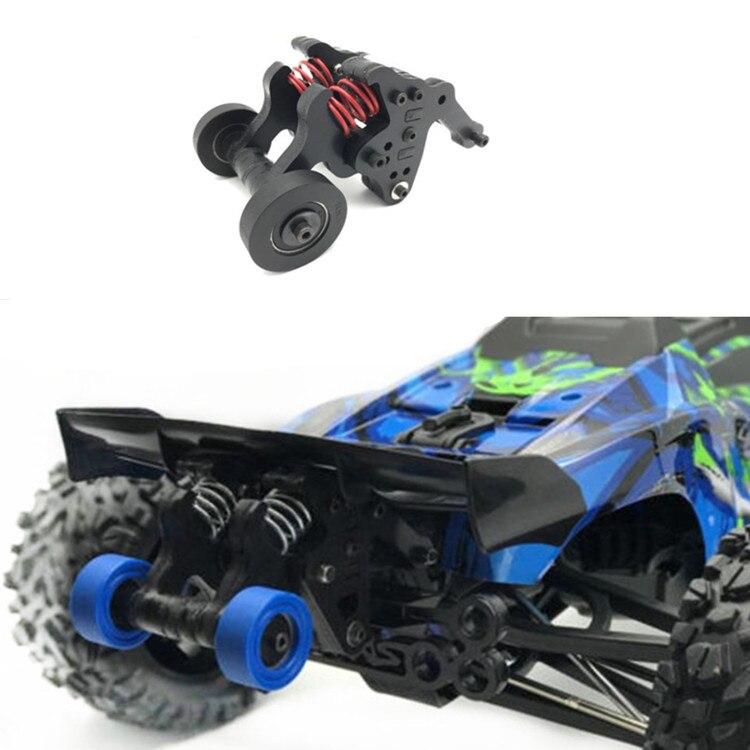 RC Car Part Nylon Double Wheel Wheelie Bar for 1/10 New TRAXXAS EREVO E-REVO 2.0 Look Video product testing secadora nova 6130