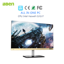 Bben 23.8inch Full HD All-in-One Desktop with Windows 10 i5 cpu 8GBRAM, 128GB SSD ,500GB HDD,quad core 1920×1080 wifi HDM  bt4.0