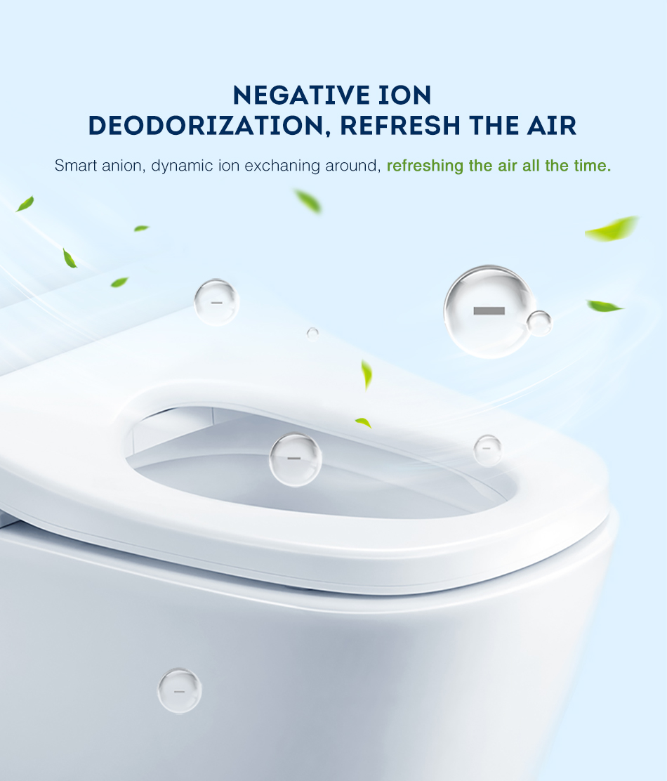Jomoo Smart Toilet Auto Operated Multi Functions Elongate Electric