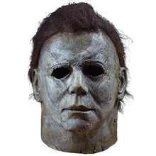 Cosplay halloween mask Melting Face Overhead Latex Costume Halloween Prop Scary Mask Toy masque led halloween(China)
