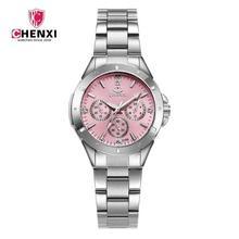 Chenxi marca de moda de lujo impermeable mujeres Reloj del cuarzo del Reloj  de las señoras 3bd08b7e084d