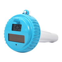 Waterproof Floating Thermometer Sensitive Practical Solar Powered Wireless Swimming Pool Pond Tools Spa Accurate Professional