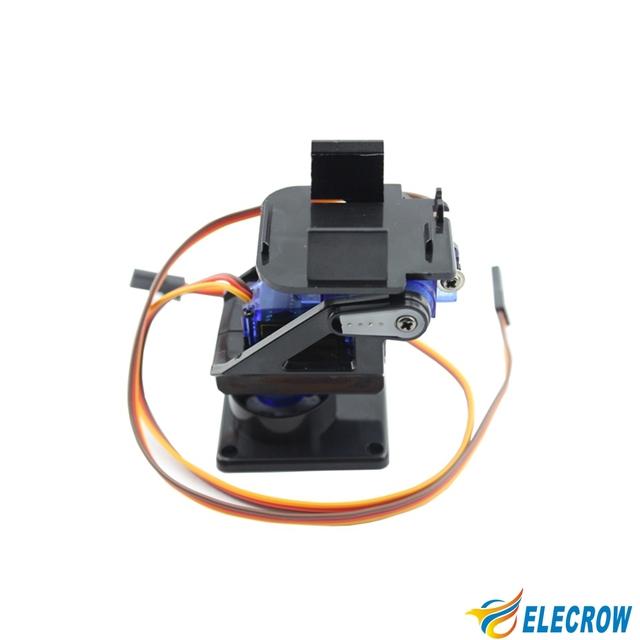 Alta Calidad PT Pan/Tilt Cámara Plataforma Inteligente PTZ Pan Tilt Kit con 2 Servos Para FPV Envío Gratis
