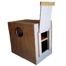 Пион волнистый попугай клетка для птиц деревянная коробка для разведения скворечник гнездо птичья клетка аксессуары Висячие ракушки