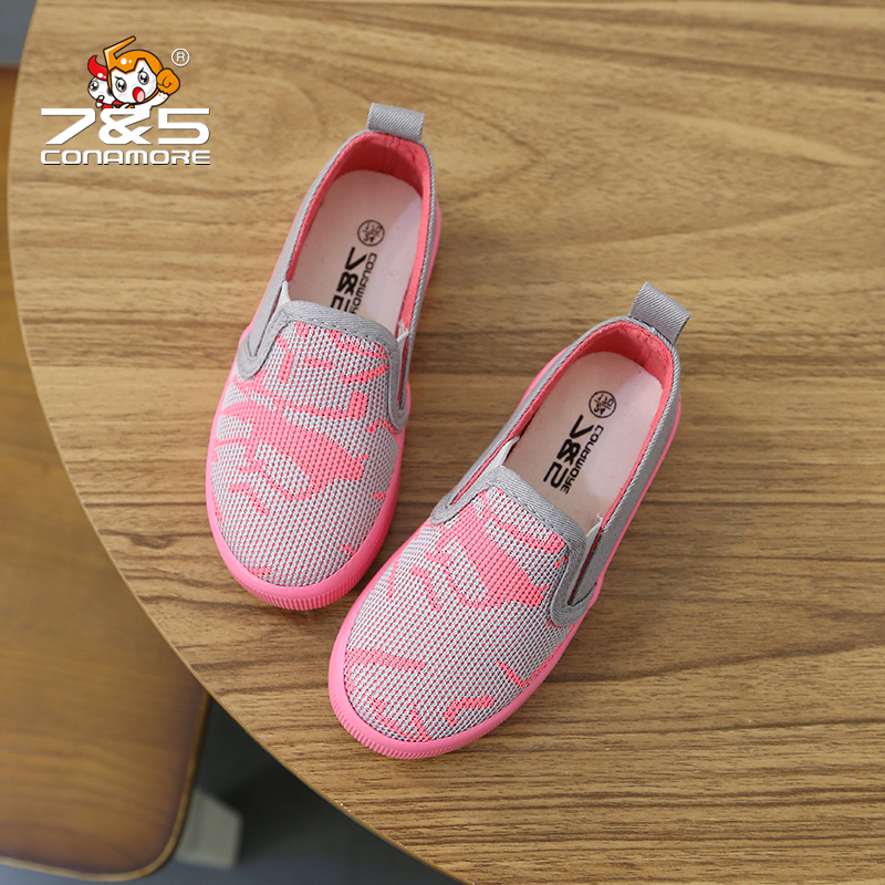 children's canvas shoes boy breathable sports running shoes kids Loafer big Little girl Sneakers tenis infantil sapatos infantil