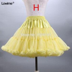 Image 3 - ยืดTulle Petticoatผู้หญิงTuTuสั้นกระโปรงร้อนขายงานแต่งงานอุปกรณ์เสริมสต็อกPetticoatsชุดสาว2019