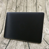 Carbon Fiber Business Style Full Body Cover Skin For Macbook Pro Air Retina 11 12 13