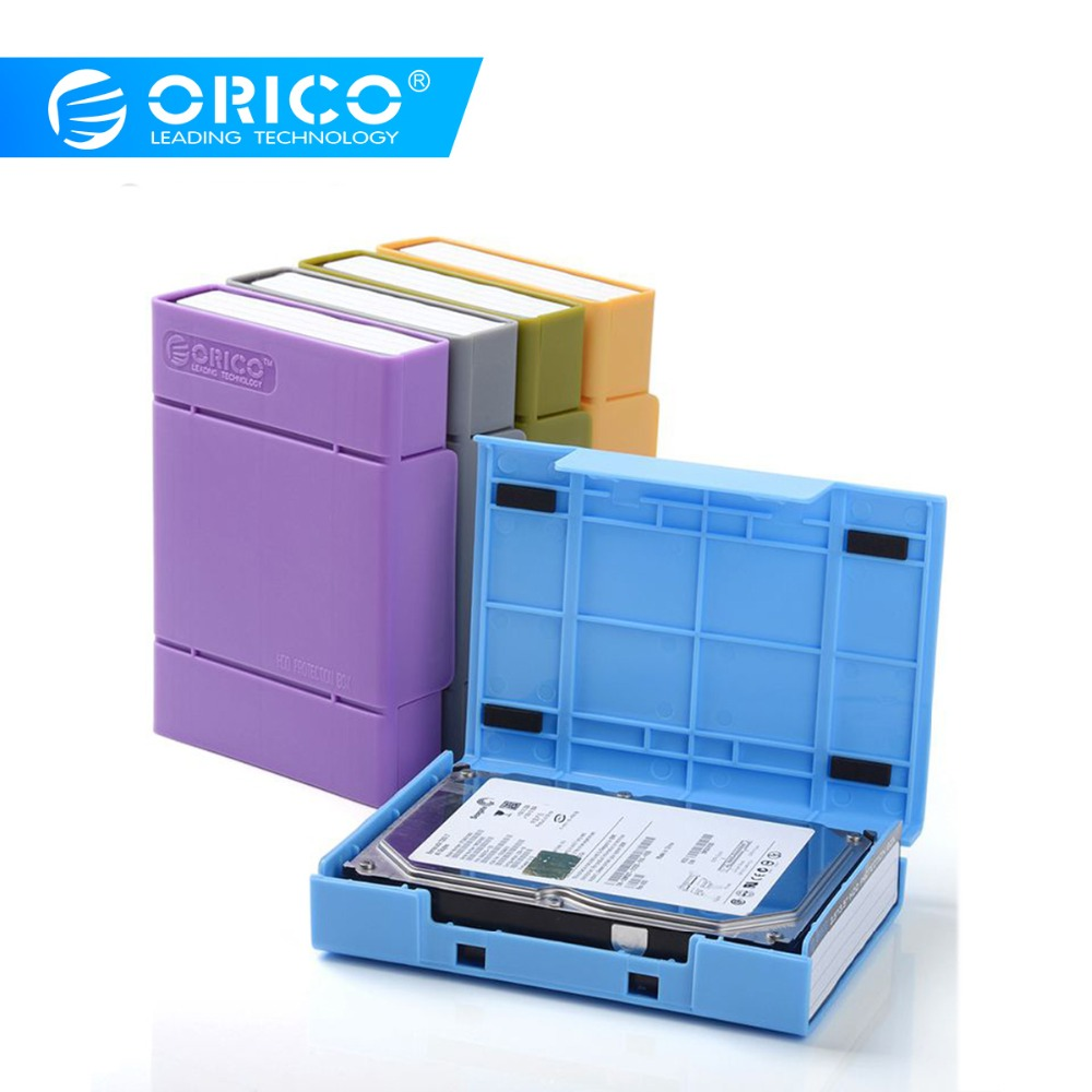 ORICO 3.5 Inch Hard Drive Bags Cases Waterproof Anti-Static HDD Protector Box