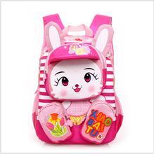 2017 Hot Sale Children School Bags Cartoon waterproof Backpack Baby Toddler kids Book Bag Kindergarten Boy Backpacking(China (Mainland))