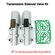 28260PRP014 Transmission Dual Linear Solenoid For Honda Accord CRV Acura 99210 new solenoid assy transmission dual linear solenoid for honda civic 2006 2011 oe 28260rpc004 28260 rpc 004 qp0321
