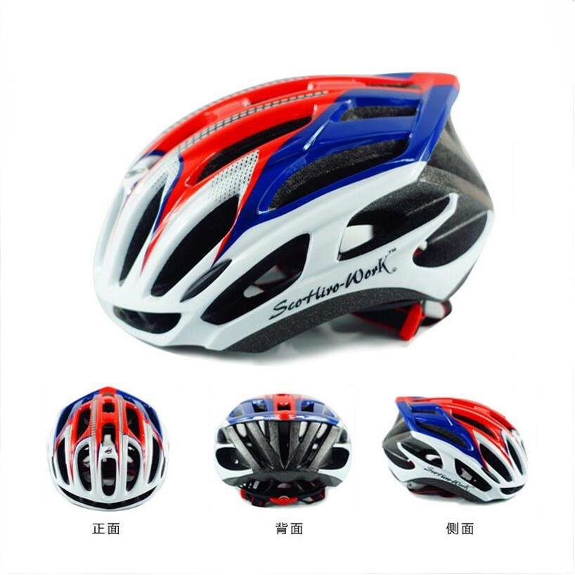 Cycling-Helmet Speed-Bicycle Mountain-Road-Bike In-Mold Race Triathlon Aero with Free-Gift