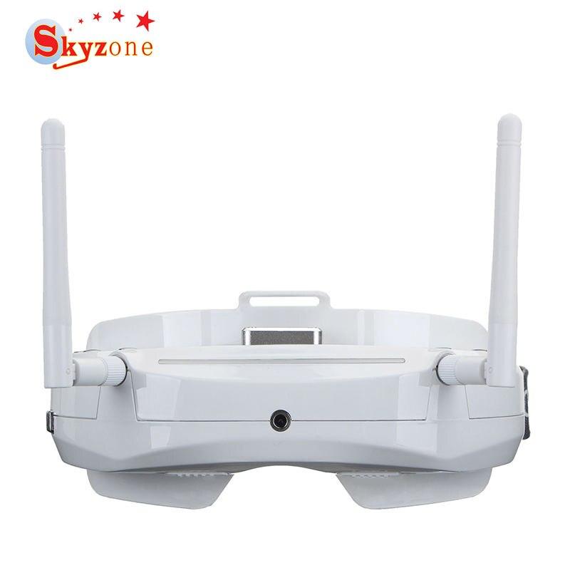 48CH SKY03 3D Nova Versão 5.8G Receptor de Diversidade Skyzone FPV Goggles com Cabeça Rastreador Câmera Frontal HD DVR Para RC Zangão Parte