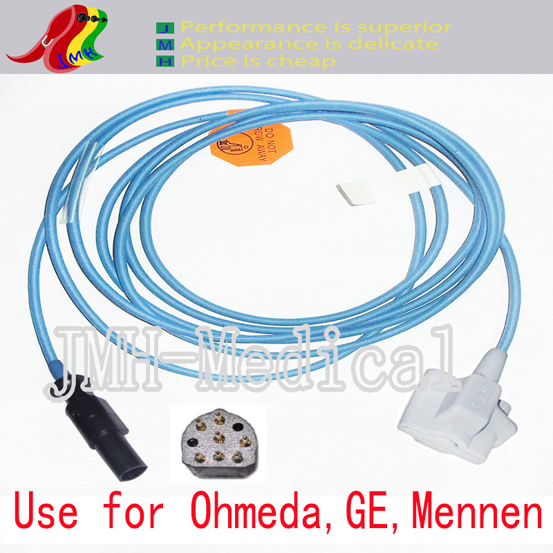 Compatible with Ohmeda,GE,Mennen Pulse Oximeter monitor , Pediatric silicone soft tip spo2 sensor.7pin.Compatible with Ohmeda,GE,Mennen Pulse Oximeter monitor , Pediatric silicone soft tip spo2 sensor.7pin.