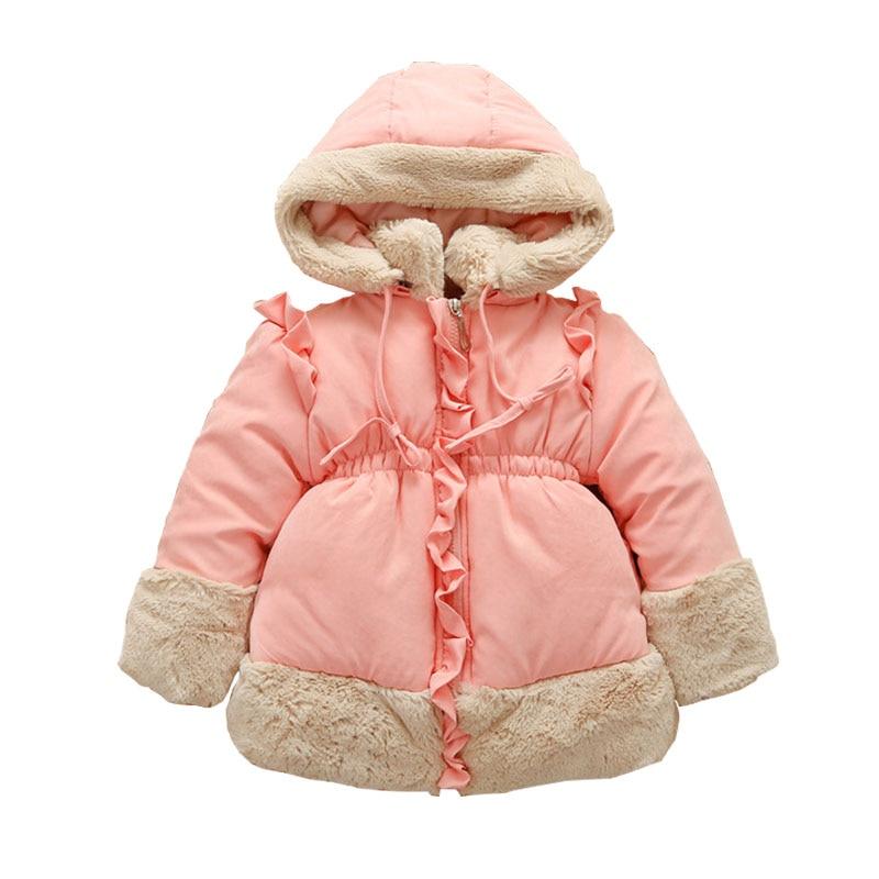 2018 Real Full Solid Solid Saldi invernali Abiti Gilrs per giacca da - Vestiti per bambini