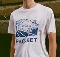 Gosha trasher rubchinskiy camiseta hombres skate camisetas Cartas places caras paccbet camiseta camisas de algodón de manga corta