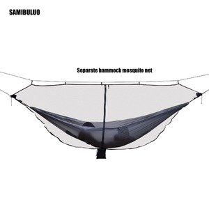 Image 3 - Lightweight Hammock Bug Mosquito Net  Easy Setup Outdoor Double Single Hammocks for 360 Degree Protection Dual Sided Zipper