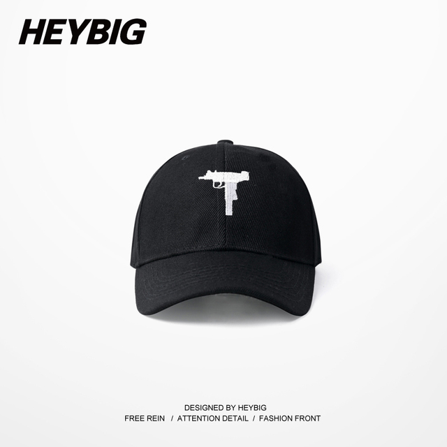 June New 2016 Gun Snapback Hat American Fashion baseball cap HEYBIG hip hop Streetwear Curve Brimmed 6 panels Carton Packing