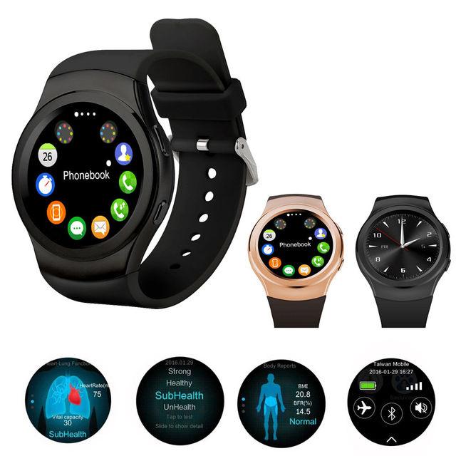 № 1 G3 Bluetooth Smartwatch MTK2502 Siri Умный Часы С Сим-Карты водонепроницаемый Монитор Сердечного ритма Reloj Для Android iOS ПК G4 G5