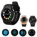 NO. 1 G3 MTK2502 Siri Smartwatch Bluetooth Relógio Inteligente Com O Cartão Sim Monitor de Freqüência Cardíaca à prova d' água Reloj Para iOS Android PK G4 G5