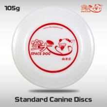 Free Shipping SpaceDog Standard Canine Discs New Outdoor Fun and Sports Dog Frisbee Pet training Puppy toy Flying disc