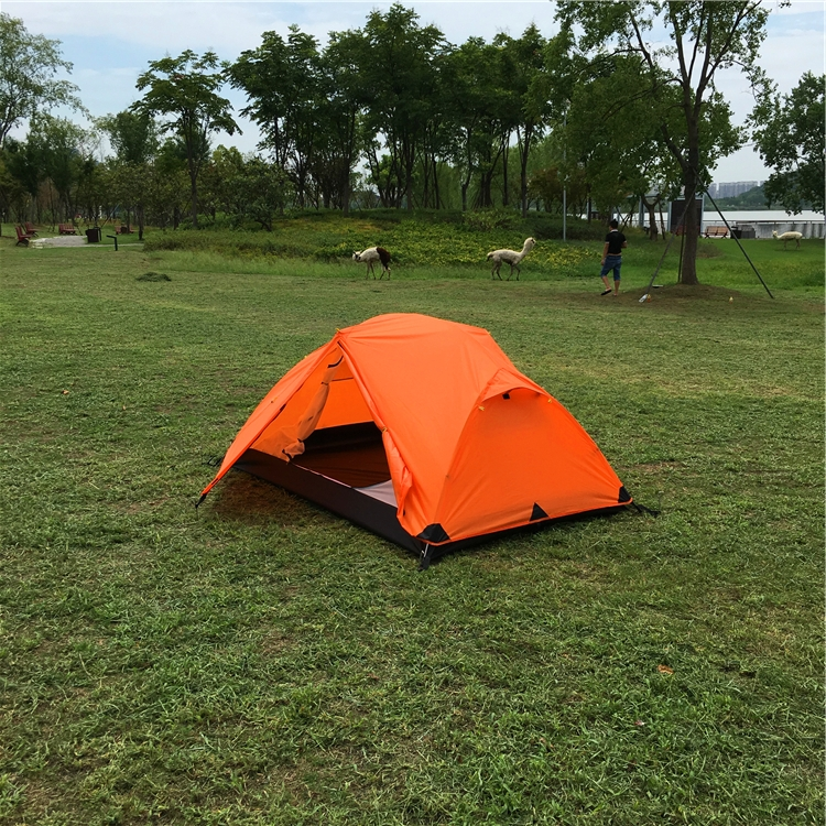 Wysokiej klasy Ultralight 2 osoby namiot, podwójna warstwa 2 osoba wodoodporna namiot na wędrówki z plecakiem, CZX-204 Ripstop namiot, namiot ultralekki