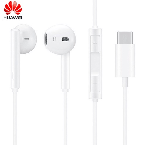 Huawei CM33 Type C Hi-Res audio Earphone with Control Support Huawei Mate 10 20 Pro P20 Pro headset sport earphones