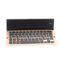 Portable Bluetooth Wireless Foldable Keyboard Mini Keypad Holder for IOS Android Windows Table PC WIF66