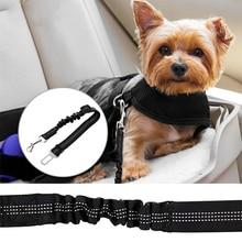 Регулируемый ремень безопасности для животных для транспортного средства нейлоновый ремень безопасности для домашних животных сверхмощный и эластичный и прочный автомобильный ремень безопасности для домашних животных