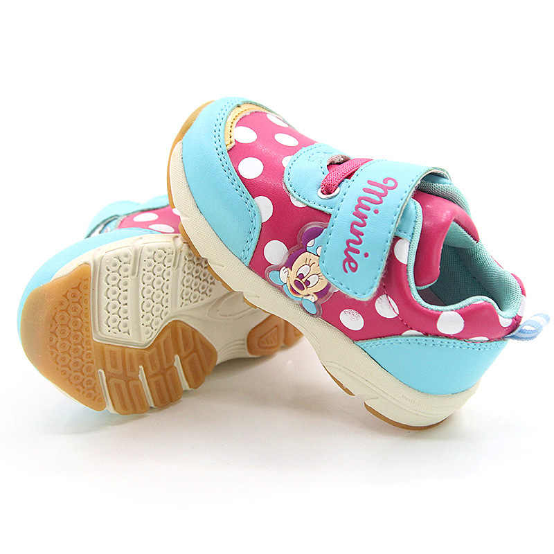 dec11a66a ... Disney обувь для детей девочек кроссовки девушка Caterpillar в полоску  обувь осень 2018 Todder анти- ...