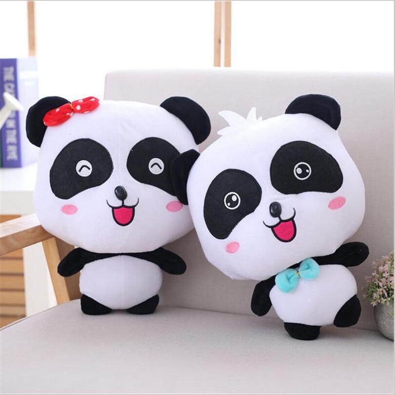 Lovely Shyness Panda Soft Plush Toy Stuffed Animal Plush Doll Valentine's Gift & Birthday Gift