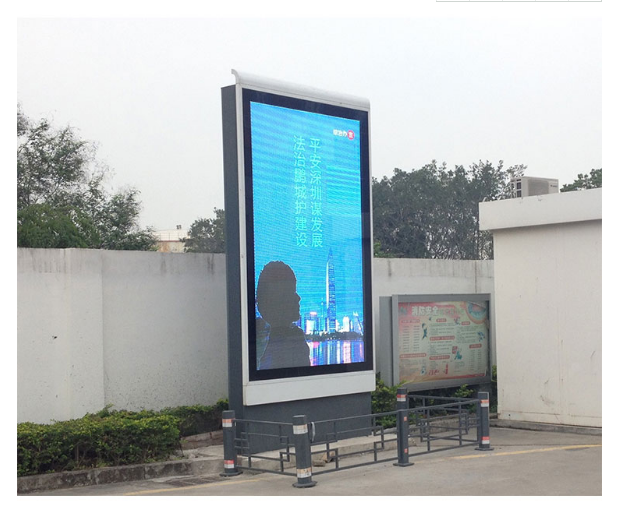 98 inch outdoor led advertising screen price with advertising video display