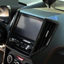 2 шт., накладки на вентиляционные решетки из углеродного волокна для Subaru XV Crosstrek 2018