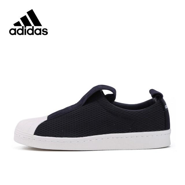 4e8d0a5acf9 Adidas Nova Chegada Originals Superstar Oficial BY9137 Deslizamento Em  Sneakers Respirável Sapatos de Skate Esportes das