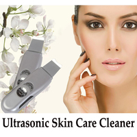 Portable Ultrasound Skin Cleaner Ultrasonic Pore Cleaning Face Peeling Facial Scrubbe Machine Acne Removal Tool Beauty