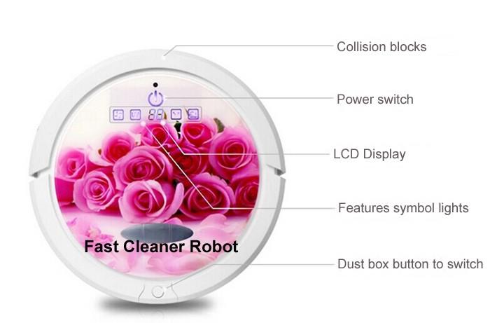 roboter-staubsauger QQ6 Dollar Lithium-batterie 16