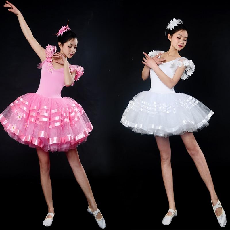 Лидер продаж розовый пачка танцевальные любимые балетное платье-пачка сценический костюм Длинные Балетные костюмы пачка взрослых Романти...
