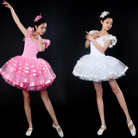 Hot Sale Pink Tutu Dance Favourite Ballet Tutu Dress Stage Costume Long Ballet Tutu Adult Romantic Ballet Tutus Women 2 color