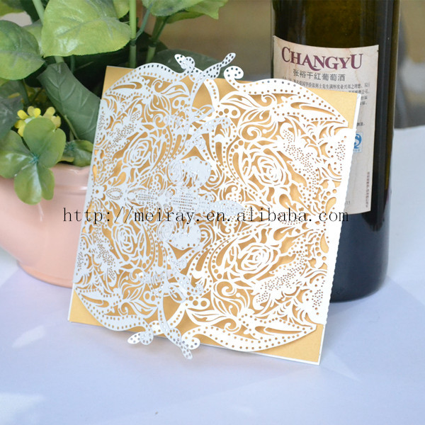 Card For Wedding,laser Cut Wedding Invitations Elegant,wedding Invites  Lilac Made In China In Cards U0026 Invitations From Home U0026 Garden On  Aliexpress.com ...