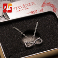 Anime Toma Infinita Infinita Ouroboros Ssangyong 925 Collar de Plata Esterlina Colgante de Plata de La Joyería Símbolo de Ouroboros Pulsera