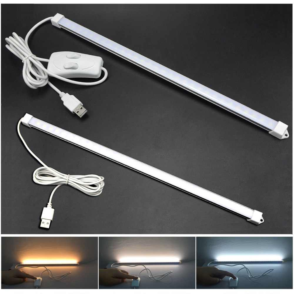 Guillermo USB Powered LED Bar Light DC 5V Eye Protection LED Rigid Strip LED Reading Light Table Lamp Kids Study Night Lighting