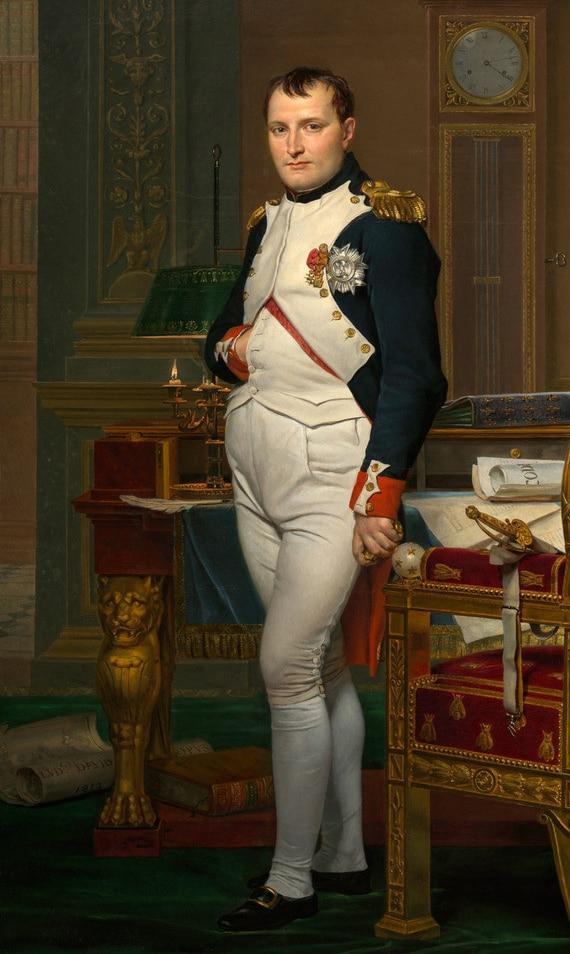 Groothandel olieverf # Goede kwaliteit art Keizer van Frankrijk Napoleon Bonaparte KONING olieverf OP CANVAS 36 inches-in Platen & Tekens van Huis & Tuin op  Groep 1