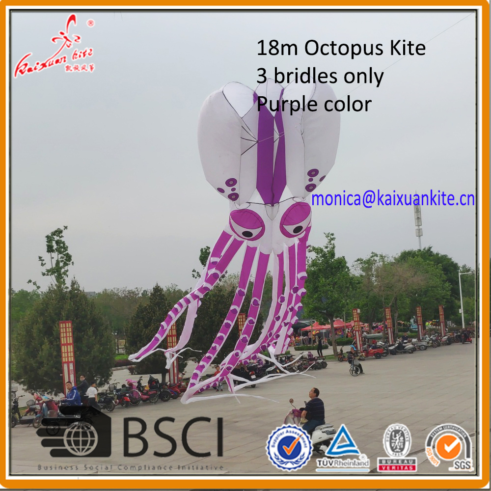Octopus Kite soft kite show kite Lifter from Weifang Kaixuan Kite
