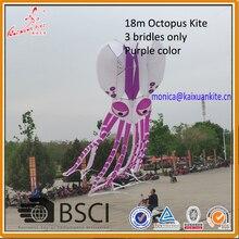 Осьминог Кайт, мягкий воздушный змей для шоу, подъемник от Weifang кайшанский бумажный змей